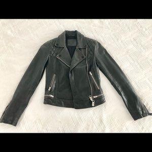 All Saints Vintage Leather Jacket - MotorBike